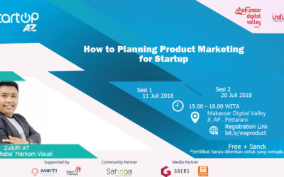 Plan Startup Product Marketing