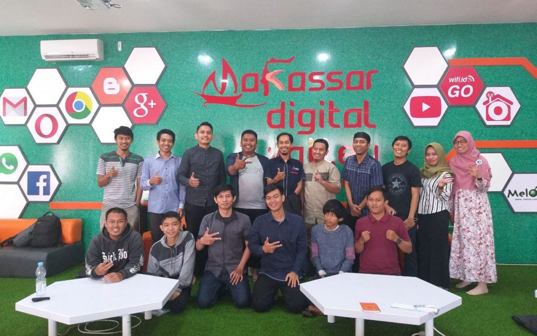 "Community Blast DILo Makassar, Founder Gathering ""How to Find Win Zone for Startup"""