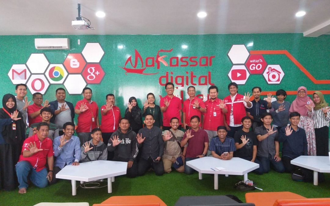 Kunjungan Komisaris PT Telkom Indonesia ke Makassar Digital Valley