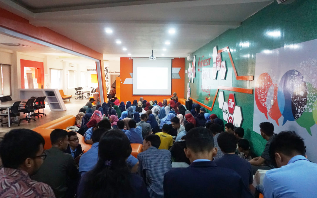 Community Blast DILo Makassar, Business Model Canvas : Step by Step Front Row Agile