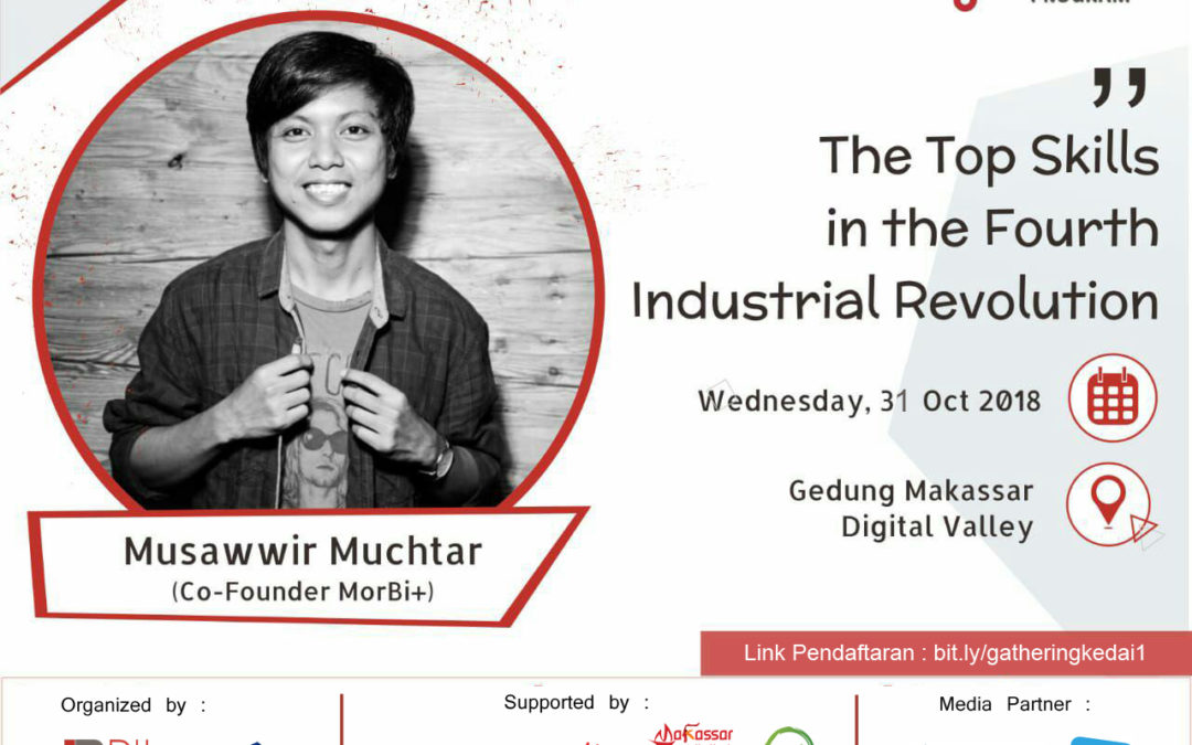 Community Blast DILo Makassar – The Top Skills in the Fourth Industrial Revolution