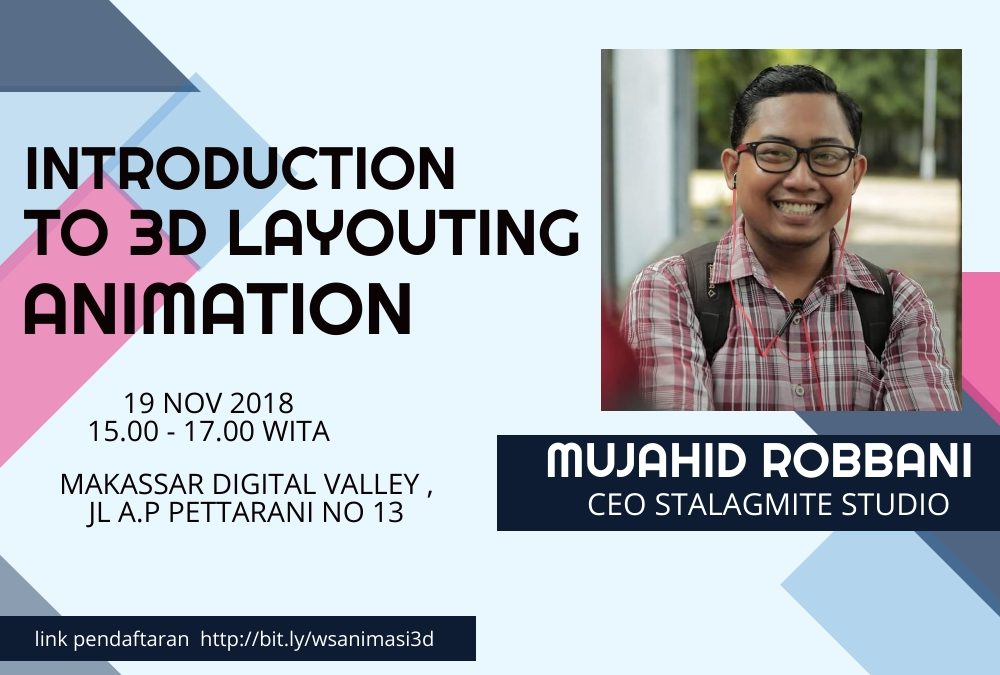 Creative Corner DILo Makassar – Introduction to 3D Layouting Animation