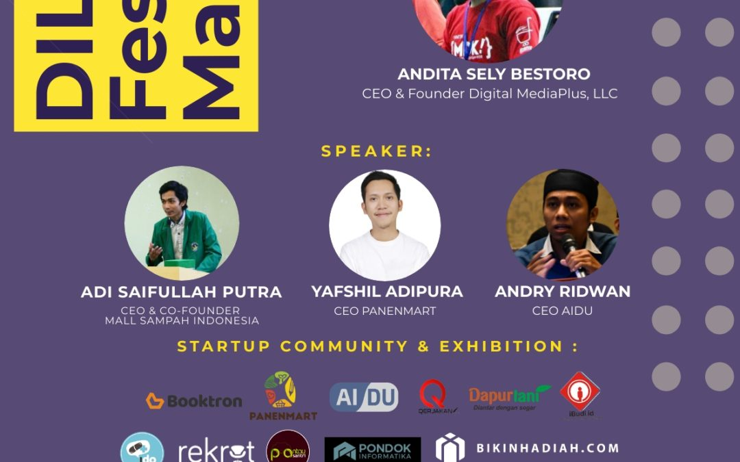 "DILo Festival Makassar 2018 ""Local Empowerment Through Startup"""