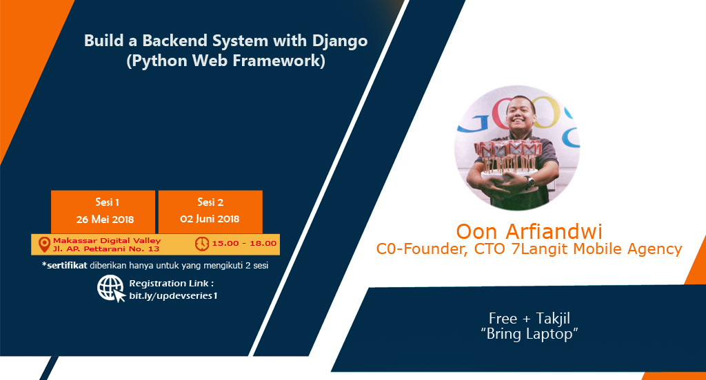 Build Backend System with Django