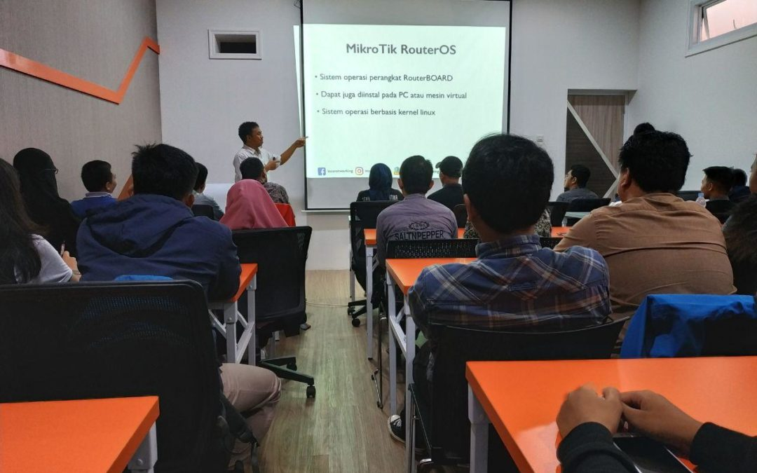 DILo Makassar dan Insanetworking hadirkan Workshop Mikrotik
