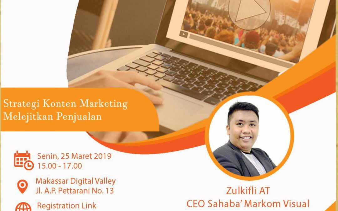 "Bizmarknet ""Strategi Konten Marketing Melejitkan Penjualan"""
